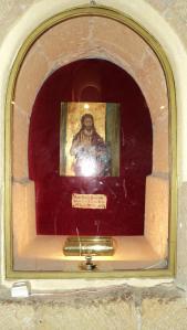 Retrato y reliquia de San Juan Bauttista