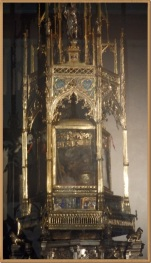 San Silvestro in capite, relquia del Bautista